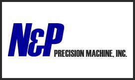 N&P Precision Machine Logo